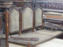 Реставрация  купеческого дивана 19 в.