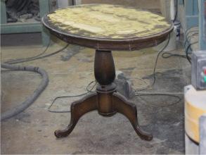 Реставрация и перекраска стола