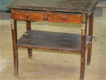 Реставрация  столика консоли