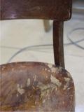 Реставрация и перекраска венского стула.