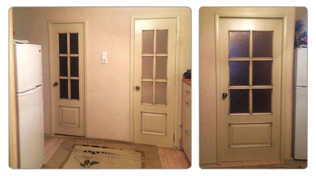 двери после реставрации