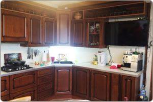 кухня после реставрации