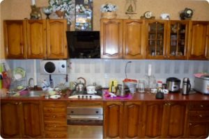 кухня до реставрации